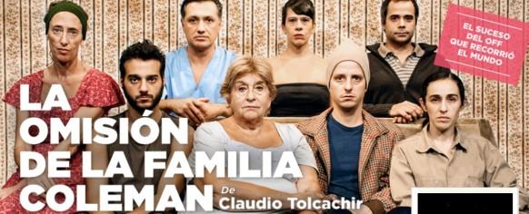 La omisión de la familia Coleman, de Claudio Tolcachir