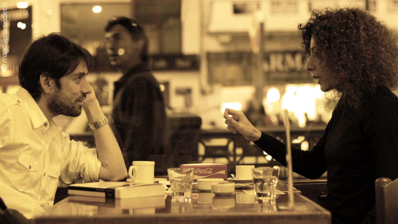 Leila Guerriero y Fernando Pittaro